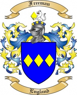 Freeman Coat of Arms, England